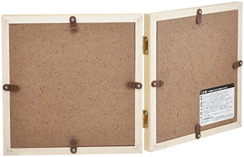 HAKUBA フォトフレーム スクウェア 木製 額 カレ L サイズ 2面 ナチュラル L 木製 FSQCR-NTL2
