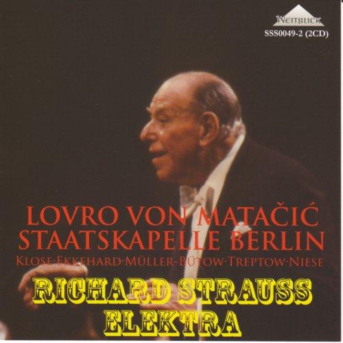 R・シュトラウス:歌劇「エレクトラ」全曲、交響詩「死と変容」