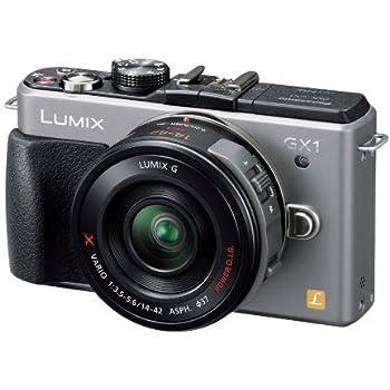 Panasonic ミラーレス一眼カメラ ルミックス GX1 レンズキット 電動ズームレンズ付属 ブレードシルバー DMC-GX1X-S