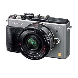 Panasonic デジタル一眼カメラ LUMIX GX1 電動ズームレンズキット ブレードシルバー DMC-GX1X-S