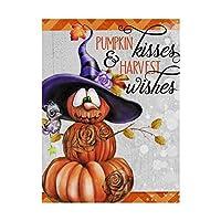 商標FineアートPumpkin Kisses by Sheena Pike Art and Illustration 24x32 ALI32845-C2432GG