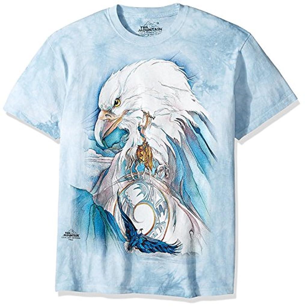 ナインへ世論調査絶滅したThe MountainメンズPeace at Last Tシャツ