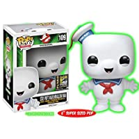 Stay Puft Marshmallow Man Pop 。Movies # 109SDCC Exclusive Vinyl Figure by Ghostbusters