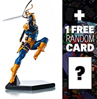 "Deathstroke [by Ivan Reis]: ~9"" 1/10 DC Comics x Iron Studios Art Scale Statue Figurine (#002) + 1 FREE Official DC"