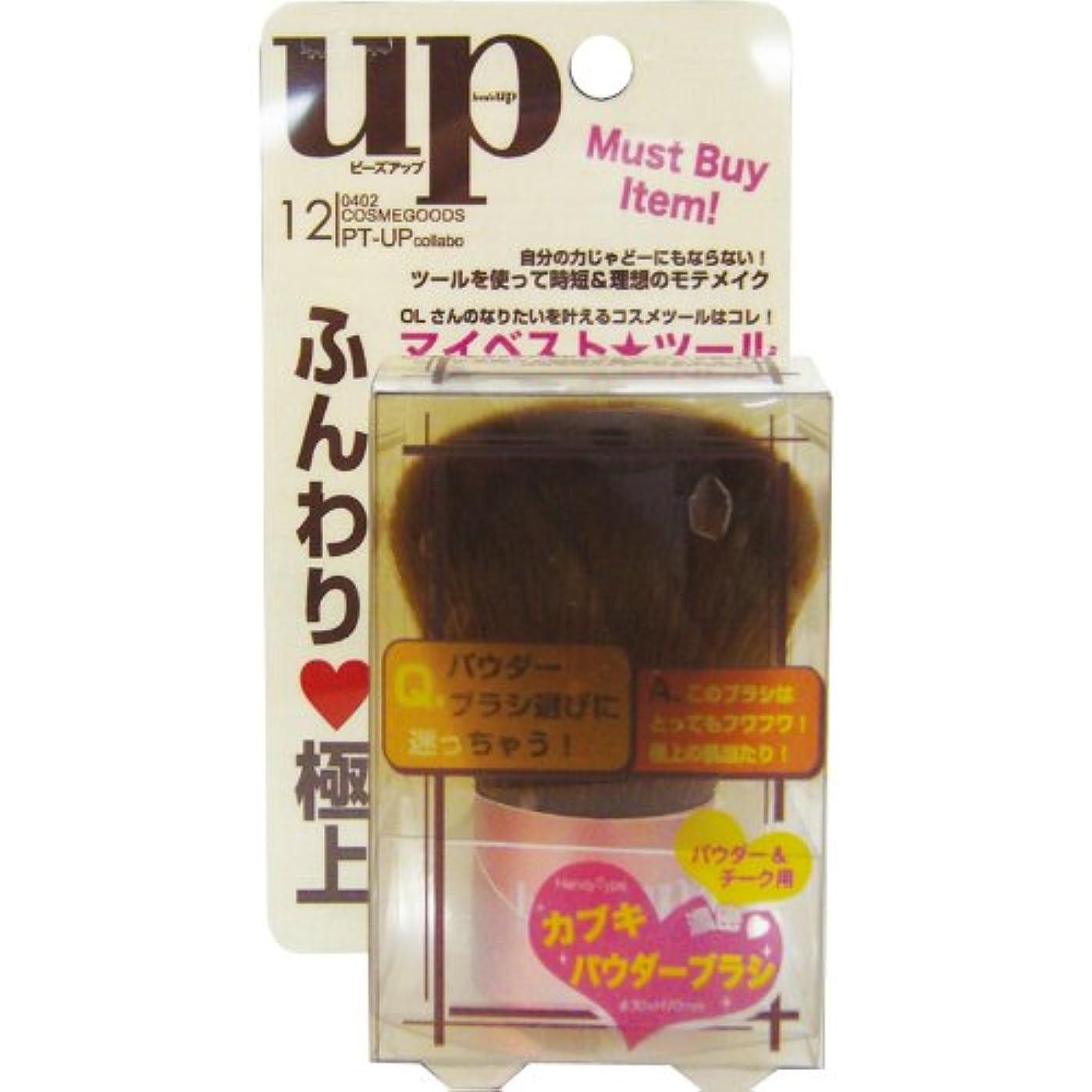 勘違いする花瓶専門bea`s up(ビーズアップ) カブキパウダーブラシ