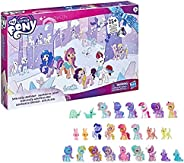 My Little Pony: A New Generation Movie Snow Party Countdown Advent Calendar Toy for Kids - 25 Surprise Pieces,