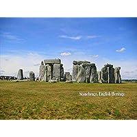 【イギリスの観光地ポストカードAIR】Stonehenge, English Heritage 葉書・はがき・ハガキ