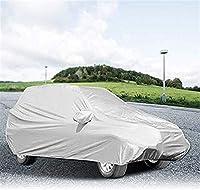 特大カーカバー、ユニバーサルのフルサイズカーカバー付き収納袋防水通気性のUVプロテクション屋外カバー(サイズ:530 X 200センチメートル/ 17.4 X 6.6フィート) lsmaa (Size : 530 x 200cm/17.4 x 6.6ft)