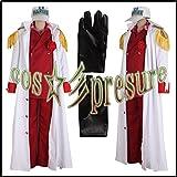 100 【cos-presure】ONE PIECE ワンピース 海軍三大将 赤犬 風衣装◆コスプレ
