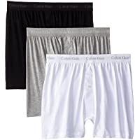 Calvin Klein Men's 3-Pack Cotton Classic Knit Boxer