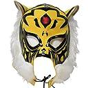 【プロレス マスク】初代 タイガーマスク セミレプリカマスク ジャージ素材イエロー ルチャリブレ プロレス