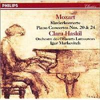 モーツァルト:ピアノ協奏曲20番/同第24番