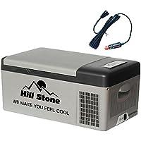 冷蔵庫 冷凍庫 保冷庫 車載用 シガープラグ式 DC12V DC24V -20度 15L 8.2kg [並行輸入品]