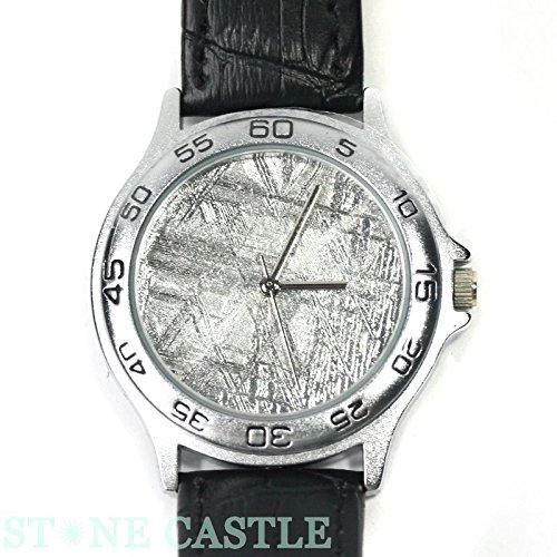 【石流通センター】☆腕時計一点物☆【腕時計】ギベオン隕石 No.08 天然石 パワーストーン