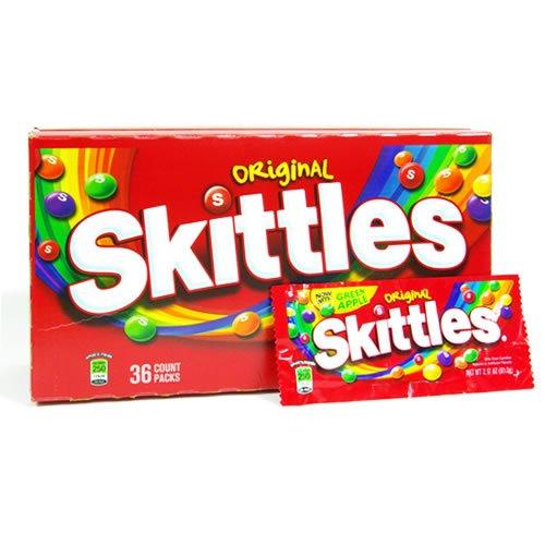 スキットルズ(Skittles) オリジナル 小袋2袋お試しセット フルーツキャンディー
