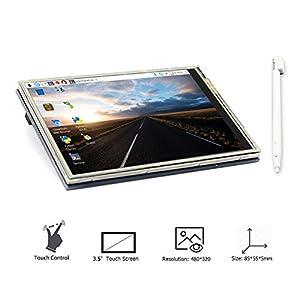 ELECROW 3.5インチTFT LCD ディスプレイ 解像度480*320 タッチスクリーン モニター Raspberry Pi 3 2モデルB B+対応