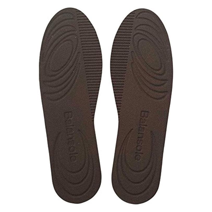 bonbone インソール バランソール 7mm傾斜 ブラウン S