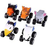 新しい子供の日ギフトおもちゃ恐竜動物モデルミニおもちゃの車の背面の車子供の贈り物誕生日 One Size マルチカラー GT-54