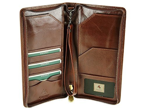 Visconti 728 Large Leather Tra...
