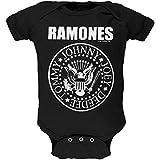 ラモーンズ Ramones Seal 赤ちゃん Baby Romper Tシャツ T-Shirt