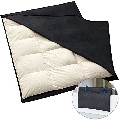 アストロ 布団干し袋 シングル用 黒 厚手不織布 汚れ防止 173-09