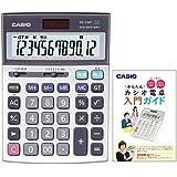 カシオ 本格実務電卓 DS-WT122 特典付きセット 時間・税計算 デスクタイプ 12桁