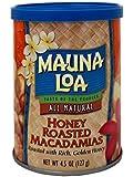 マウナロア  ハニーロースト マカデミアナッツ 缶 127g