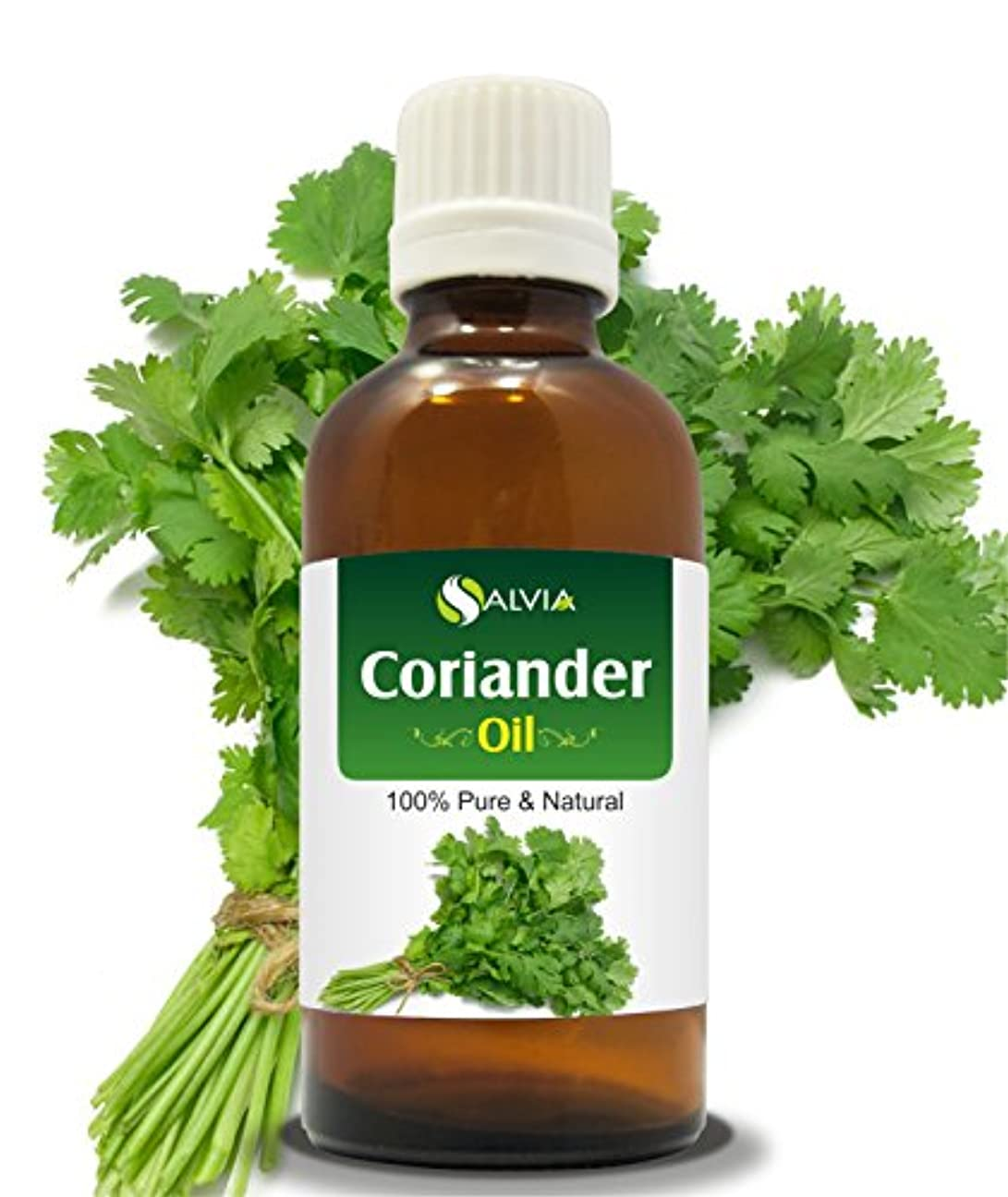 ヘッジ復讐敵対的CORIANDER OIL 100% NATURAL PURE UNDILUTED UNCUT ESSENTIAL OIL 30ML