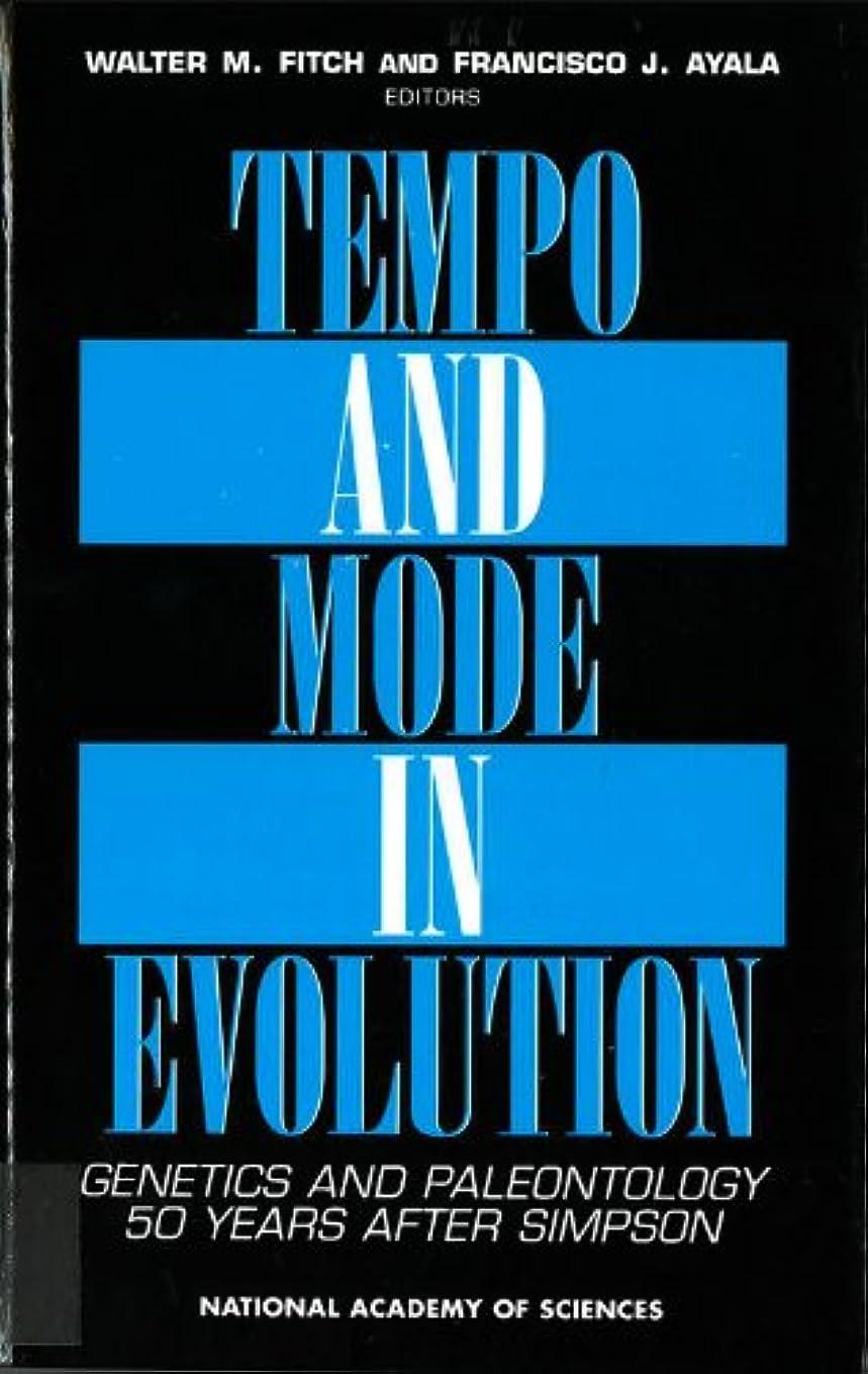憂慮すべき感じデンマーク語Tempo and Mode in Evolution: Genetics and Paleontology 50 Years After Simpson (Applied Mathematics; 66)