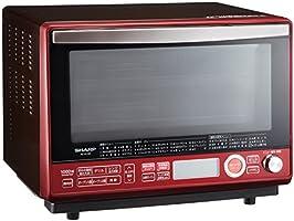 シャープ 過熱水蒸気 オーブンレンジ 31L 2段調理 レッド RE-SS10B-R