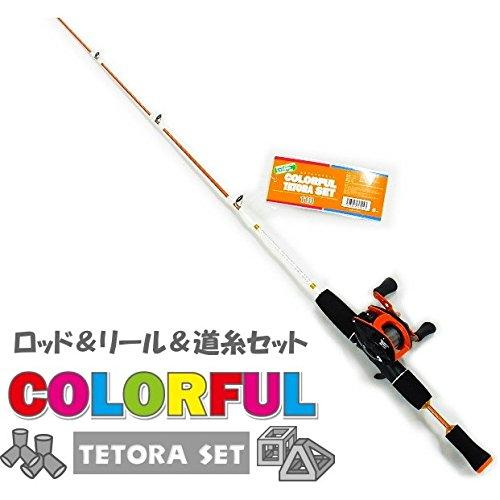 [해외]테트라로드 파이브 스타 화려한 테트라 세트 110 (오렌지)   탐색 낚시 얼음 낚시 짧게 던지 장대/Tetra Rod Five Star Colorful Tetraceet 110 (Orange)   Search fishing hole Fishing little throwing rod