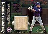 アレックス・ロドリゲス Alex Rodriguez 2002 Topps Gold Label MLB Awards Ceremony Bat Titanium