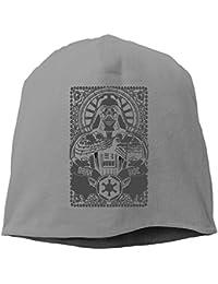 【Dera Princess】 男女兼用 ニット帽 Vader Dark Sideロゴ コットン ニットキャップ 帽子 オールシーズン 被れる