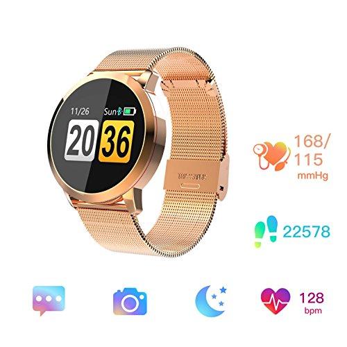 [해외]스마트 시계 방수 스포츠의 스마트웨어~ 블루투스 심장 박동 모니터 활동 래커~ 보수계~ 수면 분석~ 칼로리 카운터에 부합 Android 및 Ios 긴 대기/Smart Watch~ Waterproof Sports~ Smartware~ Bluetooth~ Heart Rate Monitor~ Activity Lacquer~ P...