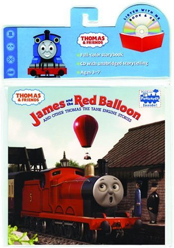 James and the Red Balloon Book and CD (Thomas & Friends)