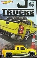 2016 Hot Wheels Car Culture Trucks Limited Edition Real Riders Metal/Metal Chevy Silverado 4/5 [並行輸入品]
