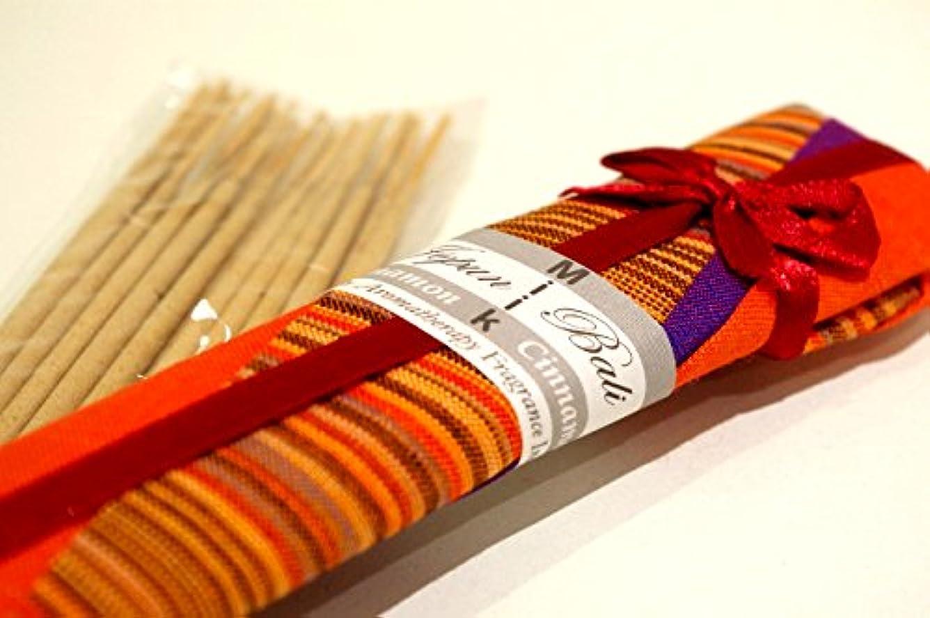 変色するパケット観察するJepun Bali シナモン/インセンス?スティック