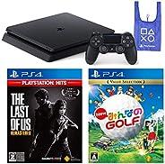 PlayStation 4 + The Last of Us Remastered + New みんなのGOLF + オリジナルデザインエコバッグ セット (ジェット・ブラック) (CUH-2200AB01) 【CERO
