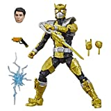 """Power Rangers Lightning Collection 6"""" Beast Morphers Gold Ranger Collectible Action Figure Toy with Accessories"""