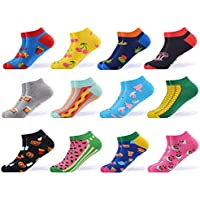 WeciBor Men's Dress Cool Colorful Fancy Novelty Funny Casual Combed Cotton Crew Socks