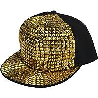 heymei New Flat Hat Baseball Cap Hip-hop Hats Fashion Sequins