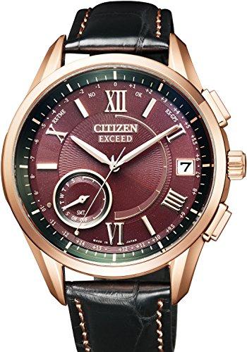 シチズン CITIZEN 腕時計 EXCEED エクシード LIGHT in BLACK エコ ドライブGPS衛星電波時計 F150 ダイレクトフライト CC3052-18X メンズ