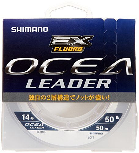 シマノ オシアリーダー EXフロロ L 50m 50lb 14号