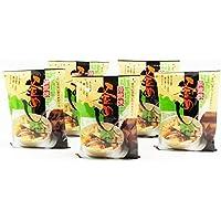 国産 | 水を使わず即席で美味しい | 山菜 釜飯 ( 釜めし ) | 早炊き米 ・ 具 入り 釜めしの素 のセット | 5食 | 炊き込みご飯 旅館 気分を味わう 贈り物 夜食 非常食 の 備蓄用 としても | 炊飯器 固形燃料 使用タイプにも使用可