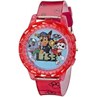 Nickelodeon Kids' PAW4006 Paw Patrol Digital Display Quartz Red Watch