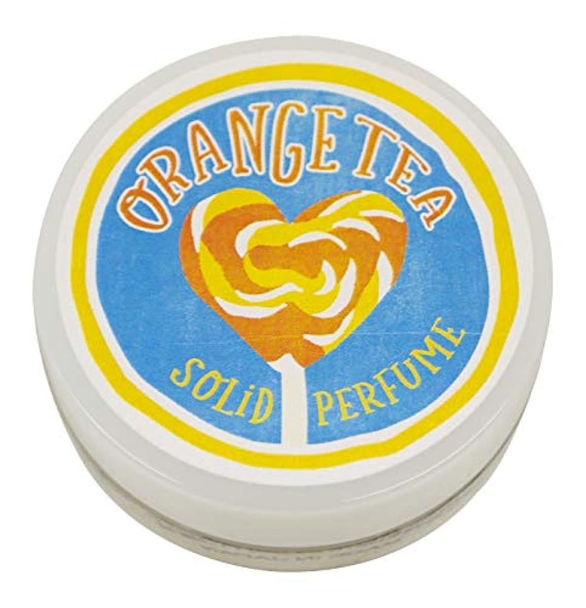 建築オン気候の山コトラボ 練り香水 8g オレンジティー