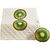ファッションキウイ枕は、オフィスの昼食に使用される子供のキルト