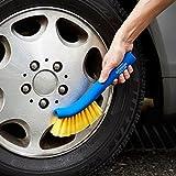 GORDON MILLER 洗車ブラシ やわらか ホイール用 ホイルブラシ イエロー オートバックスセブン
