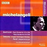 ベートーヴェン:ピアノ・ソナタ第4番, 第12番/ラヴェル:夜のガスパール(ミケランジェリ)(1959, 1982)