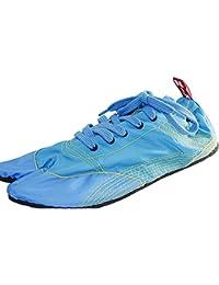 [無敵]MUTEKI 【ランニング足袋】伝統職人の匠技が創り出すランニングシューズ《ブルー》